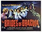 The Brides of Dracula - British Movie Poster (xs thumbnail)