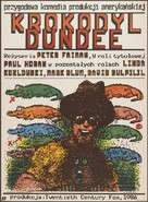 Crocodile Dundee - Polish Movie Poster (xs thumbnail)