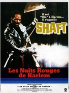 Shaft - French Movie Poster (xs thumbnail)