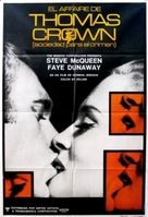 The Thomas Crown Affair - Argentinian Movie Poster (xs thumbnail)