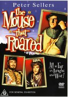 The Mouse That Roared - Australian DVD cover (xs thumbnail)