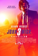 John Wick: Chapter 3 - Parabellum - Slovak Movie Poster (xs thumbnail)