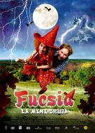 Foeksia de miniheks - Spanish Movie Poster (xs thumbnail)