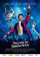 The Greatest Showman - Slovak Movie Poster (xs thumbnail)