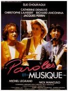 Paroles et musique - French Movie Poster (xs thumbnail)