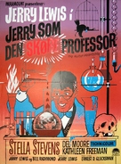The Nutty Professor - Danish Movie Poster (xs thumbnail)