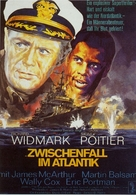 The Bedford Incident - German Movie Poster (xs thumbnail)