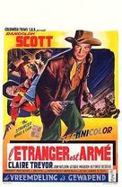 The Stranger Wore a Gun - Belgian Movie Poster (xs thumbnail)