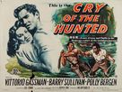Cry of the Hunted - British Movie Poster (xs thumbnail)
