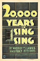 20,000 Years in Sing Sing - Movie Poster (xs thumbnail)