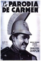 Burlesque on Carmen - Argentinian Movie Poster (xs thumbnail)