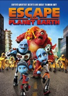 Escape from Planet Earth - DVD cover (xs thumbnail)
