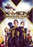 X-Men: First Class - Belgian DVD movie cover (xs thumbnail)