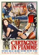 Cartagine in fiamme - Italian Movie Poster (xs thumbnail)
