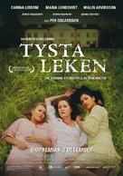 Tysta leken - Swedish Movie Poster (xs thumbnail)