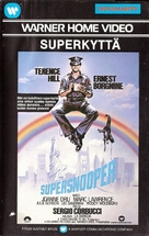 Poliziotto superpiù - Finnish VHS cover (xs thumbnail)