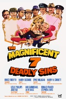 The Magnificent Seven Deadly Sins - British Movie Poster (xs thumbnail)