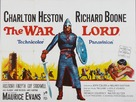 The War Lord - British Movie Poster (xs thumbnail)