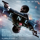Tenet - French Movie Poster (xs thumbnail)