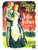 The Valley of Decision - French Movie Poster (xs thumbnail)