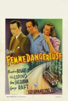 They Drive by Night - Belgian Movie Poster (xs thumbnail)