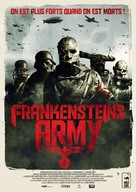Frankenstein's Army - French DVD cover (xs thumbnail)