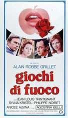 Le jeu avec le feu - Italian Movie Poster (xs thumbnail)