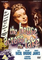 The House Across the Lake - British DVD movie cover (xs thumbnail)