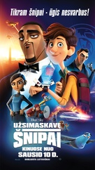Spies in Disguise - Lithuanian Movie Poster (xs thumbnail)