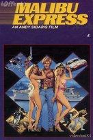 Malibu Express - VHS cover (xs thumbnail)