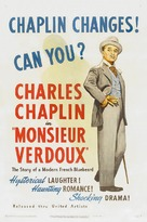 Monsieur Verdoux - Theatrical movie poster (xs thumbnail)
