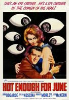 Hot Enough for June - British Movie Poster (xs thumbnail)