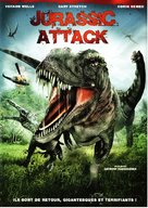 Jurassic Attack - French DVD cover (xs thumbnail)