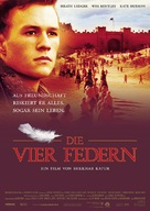 The Four Feathers - German Movie Poster (xs thumbnail)