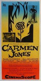 Carmen Jones - Swedish Movie Poster (xs thumbnail)