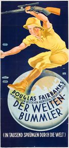 Around the World in 80 Minutes with Douglas Fairbanks - Austrian Movie Poster (xs thumbnail)