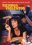 Pulp Fiction - Argentinian Movie Poster (xs thumbnail)
