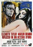 Reflections in a Golden Eye - Italian Movie Poster (xs thumbnail)