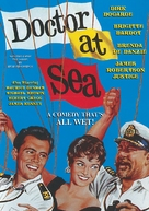 Doctor at Sea - DVD movie cover (xs thumbnail)