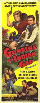 Gunfire at Indian Gap - Movie Poster (xs thumbnail)