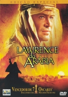 Lawrence of Arabia - Portuguese DVD movie cover (xs thumbnail)