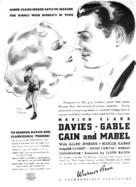Cain and Mabel - poster (xs thumbnail)