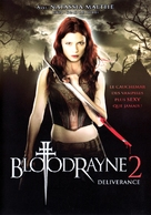 Bloodrayne 2 - French DVD cover (xs thumbnail)