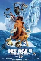 Ice Age: Continental Drift - Malaysian Movie Poster (xs thumbnail)