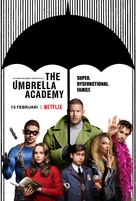 """The Umbrella Academy"" - Swedish Movie Poster (xs thumbnail)"