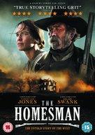 The Homesman - British DVD movie cover (xs thumbnail)