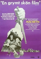 The Tragedy of Macbeth - Swedish Movie Poster (xs thumbnail)