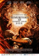 Immortals - Romanian Movie Poster (xs thumbnail)