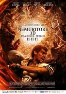 Immortals - Romanian Movie Poster (xs thumbnail)