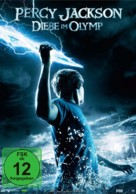 Percy Jackson & the Olympians: The Lightning Thief - German DVD cover (xs thumbnail)